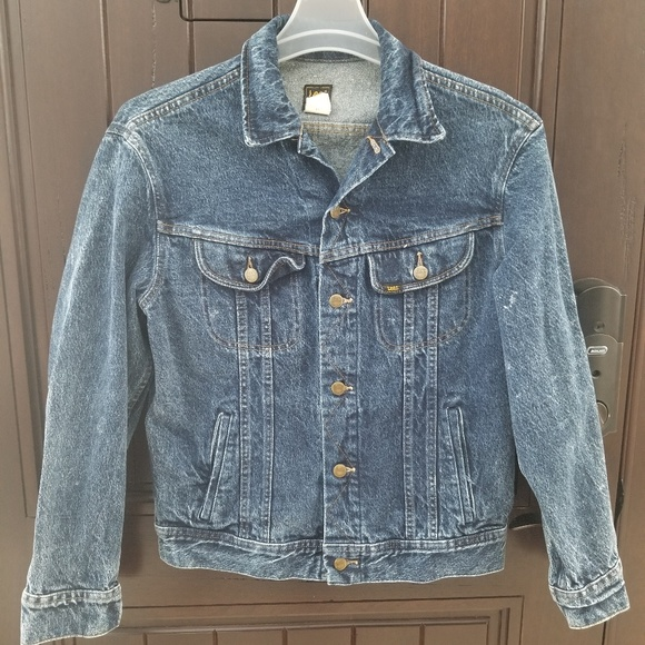 Vintage LEE Riders Made In USA Jean Jacket Small